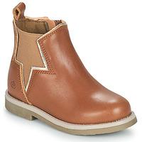 Shoes Girl Mid boots Citrouille et Compagnie PRATO Camel