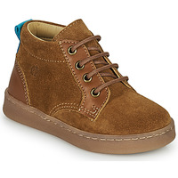 Shoes Boy Hi top trainers Citrouille et Compagnie PACELLE Camel