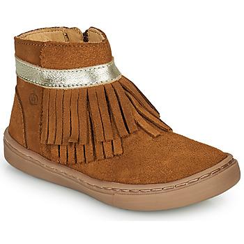 Shoes Girl Mid boots Citrouille et Compagnie PIDOUTE Camel
