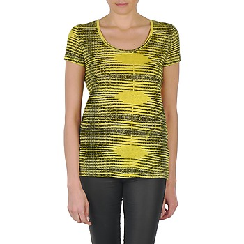 Clothing Women short-sleeved t-shirts Eleven Paris DARDOOT Yellow