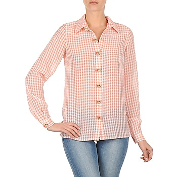Clothing Women Shirts Manoush CHEMISE ML ALIZE Pink
