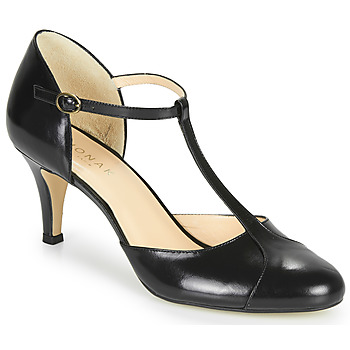 Vintage Heels, Retro Heels, Pumps, Shoes Jonak  BLOUTOU  womens Court Shoes in Black £92.99 AT vintagedancer.com