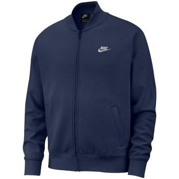 Clothing Men Jackets Nike Sportswear Club Fleece Navy blue
