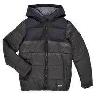 Clothing Boy Duffel coats Jack & Jones JJVENUS HEAVY PUFFER Black