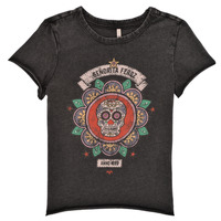 Clothing Girl Short-sleeved t-shirts Only KONLUCY Black