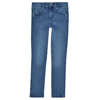 Clothing Girl Skinny jeans Only KONROYAL Blue / Clear