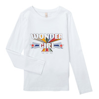 Clothing Girl Long sleeved tee-shirts Only KONTINNA White