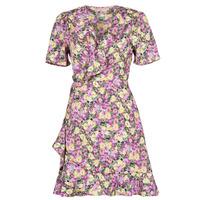 Clothing Women Short Dresses Moony Mood OHLALA Purple