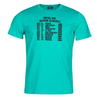 Clothing Men Short-sleeved t-shirts Diesel T-DIEGOS Blue