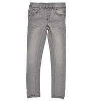 Clothing Girl Slim jeans Name it NKFPOLLY DNMTASIS Grey