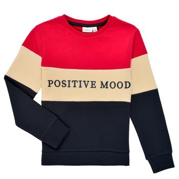 Clothing Girl Sweaters Name it NKFLIBEL LS SWEAT Multicolour