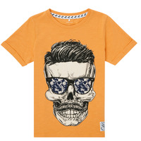 Clothing Boy Short-sleeved t-shirts Name it NKMKSOYTAN SS TOP Yellow
