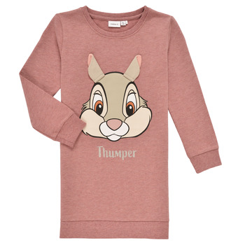 Clothing Girl Sweaters Name it NMFTHUMPER DAHLIA LS SWE Pink