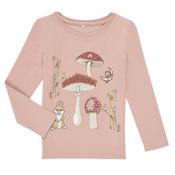 Clothing Girl Long sleeved tee-shirts Name it NMFTHUMPER ALFRIDA LS TOP Purple