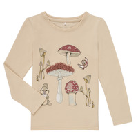 Clothing Girl Long sleeved tee-shirts Name it NMFTHUMPER ALFRIDA LS TOP White
