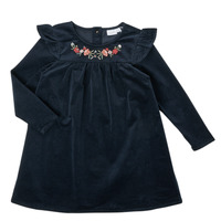 Clothing Girl Short Dresses Name it NMFNISRINE LS DRESS Marine