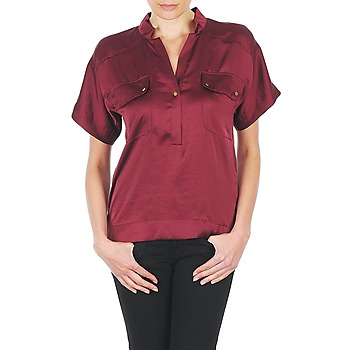 Clothing Women Tops / Blouses Lola COLOMBE ESTATE BORDEAUX