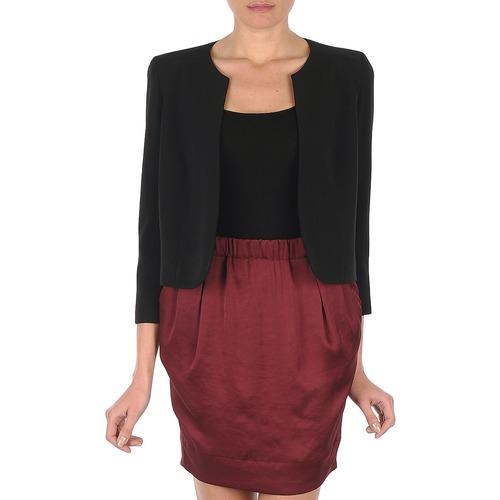 Clothing Women Jackets / Blazers Lola VICTORIA DOPPIO Black