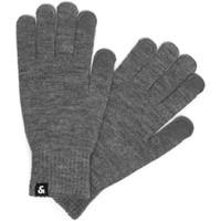 Clothes accessories Boy Gloves Jack & Jones Gants  Knitted gris