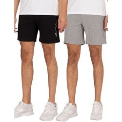 Clothing Men Shorts / Bermudas Jack & Jones 2 Pack Ombre Sweat Shorts multicoloured