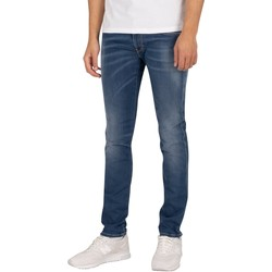 Clothing Men Slim jeans Replay Anbass Hyperflex X-Lite Jeans blue
