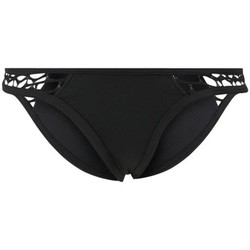 Clothing Women Bikini Separates Seafolly Black Brazilian panties swimsuit Bottom About Mesh BLACK