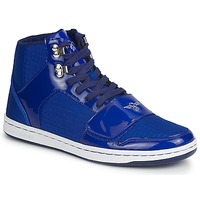 Shoes Hi top trainers Creative Recreation GS CESARIO BLUE / Patent / RIPSTOP