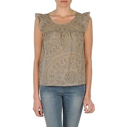 Clothing Women Tops / Sleeveless T-shirts Bensimon SADIE TAUPE