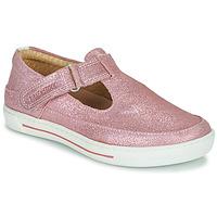 Shoes Girl Flat shoes Birkenstock ABILENE Pink