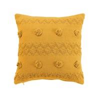 Home Cushions Douceur d intérieur ALENIA Yellow
