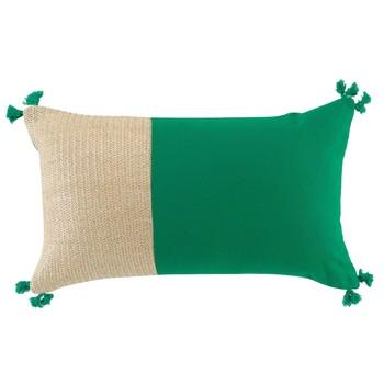Home Cushions Douceur d intérieur THALIA Green