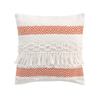 Home Cushions Douceur d intérieur ZYA Orange