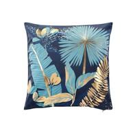 Home Cushions covers Douceur d intérieur PRUSSEOR Blue