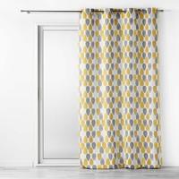 Home Curtains & blinds Douceur d intérieur PALPITO Yellow / White