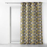 Home Curtains & blinds Douceur d intérieur PALPITO Yellow / Anthracite