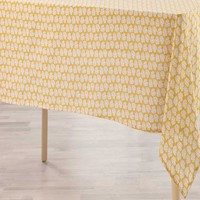 Home Tablecloth Douceur d intérieur MILA Yellow