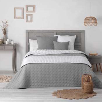 Home Duvet Douceur d intérieur MELLOW CHIC Grey / White