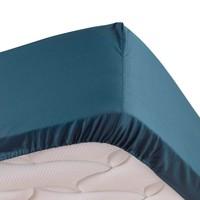 Home Fitted sheet Douceur d intérieur PERCALINE Blue