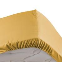 Home Fitted sheet Douceur d intérieur PERCALINE Honey