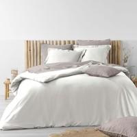 Home Bed linen Douceur d intérieur STONALIA White