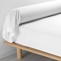 Home Pillowcase, bolster Douceur d intérieur PERCALINE White