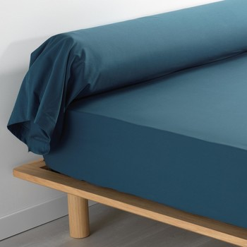 Home Pillowcase, bolster Douceur d intérieur PERCALINE Blue