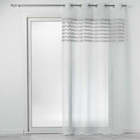 Home Curtains & blinds Douceur d intérieur SANDINA White / Grey