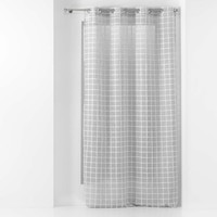 Home Sheer curtains Douceur d intérieur KARRONA Grey