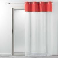 Home Sheer curtains Douceur d intérieur KELONIA Orange