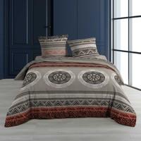 Home Bed linen Douceur d intérieur LINAKE Taupe