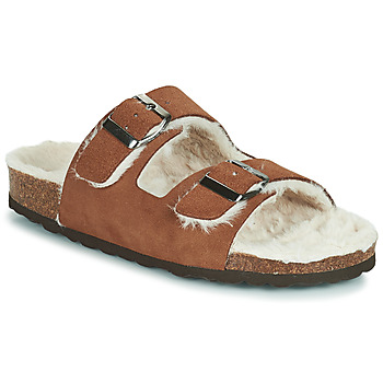 Shoes Women Slippers Casual Attitude NEW Brown