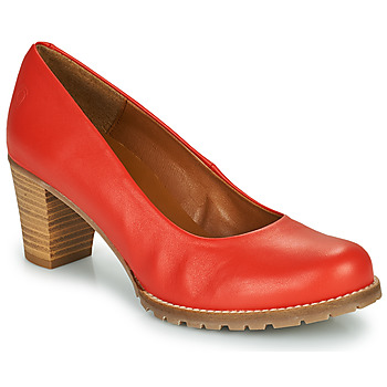 Shoes Women Heels Casual Attitude HARCHE Red