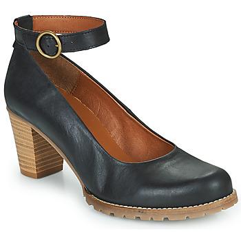 Shoes Women Heels Casual Attitude JALAYELE Black