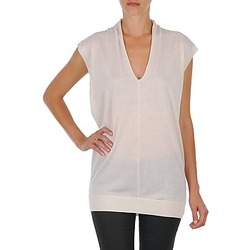 Clothing Women Tunics Joseph V NK TUNIC White